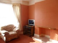 Central VERY spacious 1 bed, ground floor garden flat with garden shed & parking