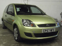 """FORD FIESTA 1.2 STYLE CLIMATE (47,OOOMILES """" NEW MOT"""" LOW INSURANCE)"""