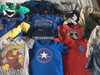 Large bundle boys Summer clothes age 3-4 4-5