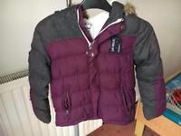 Boys winter coat age 5-6