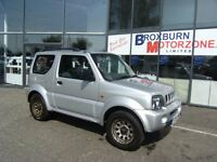 2003 53 SUZUKI JIMNY 1.3 JLX 3d 82 BHP *** GUARANTEED FINANCE ****