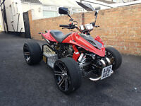 Road Legal Quad Spy f1 250 2012 4 speed + reverse