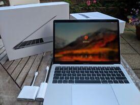 """2017 MacBook Pro 13.3"""" Silver (256 GB, i5, 16GB RAM) + Adaptors"""