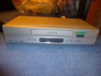 Philips VR 750 HIFI NICAM 6 Head VHS VCR Video Recorder Player