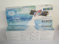 NEW UNUSED BOXED Qty 10 x Sagem TTR900 Transfer Ribbon with gauge card for fax machine