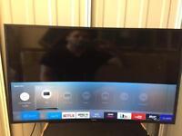 """Samsung 40"""" curved 4k ultra HD smart led tv ue40ku6100"""