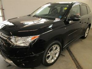 2014 Mitsubishi Outlander GT! 4x4! BACK-UP! ALLOY! HEATED! LEATH