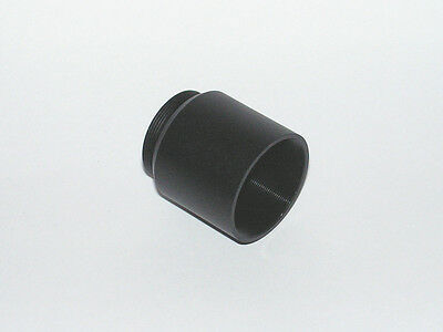 """1.25"""" C mount adapter with 1.25"""" filter thread"""