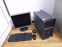 Gaming Computer PC - Complete Package - monitor and games *Ideal Christmas Gift