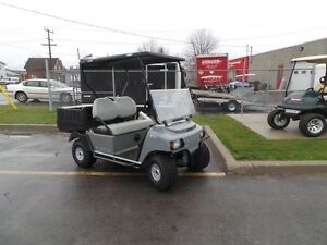 2016 club car Carryall  100 48VOLT ELECTRIC  UTILITY GOLF CART