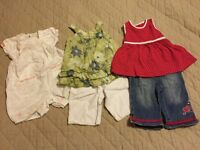 Baby Girl's Clothes Bundle Size 3-6 Months