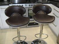 2 BAR STOOLS FOR SALE 6 MONTHS