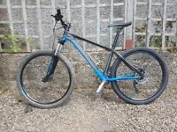 Saracen Mantra Mountain Bike - hydraulic disc brakes, shimano running gear, serviced and tuned.