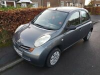 5 Door Nissan Micra 1.2 16v S With 13 Months MOT