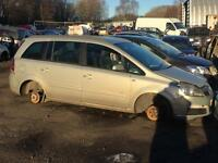 Vauxhall Zafira 1.6 16v 2007 For Breaking