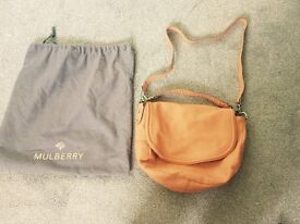 Mulberry Effie bag in coral soft leather