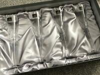 Brand new -Royal Doulton fine lead crystal champagne flutes £25.box has some scratches from storage.