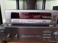 Vintage good condition Kenwood KA 1080 Integrated Amplifier and Kenwood GE 850 Graphic Equalizer