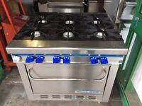 LPG BOTTLE TYPE GAS COOKER / OVEN OUT DOOR RESTAURANT MARKET FAST FOOD TRAILER BBQ KITCHEN TYPE