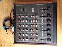 TEAC 2A VINTAGE MIXER (WORKING GREAT!)