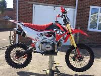 Brand new in boxes cw 140 pit bikes