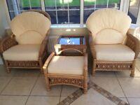 6 piece sunroom/conservatory furniture