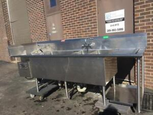 Used Hobart  TurboWash TWII Powered Sink