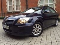 Toyota Avensis 1.8 VVT-i T3-S 5dr Automatic ++ SHOWROOM CONDITION ++ ONE OF A KIND not tdi diesel