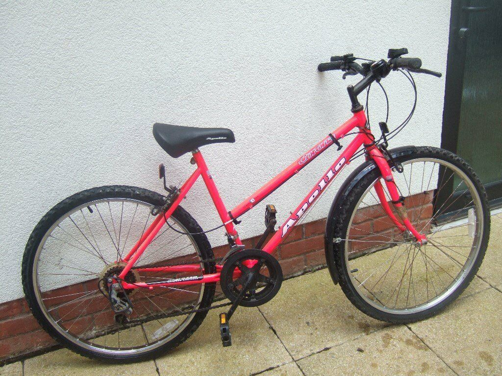 Ladies bicycle as new ...colour...red......