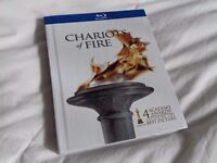 Chariots of Fire limited edition book 2 disc set blu-ray film & soundtrack CD