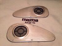 Mazda MX5 MK1 Stainless Steel Teardrop Speaker Covers