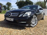 2012 Mercedes E-Class AMG Line Two door