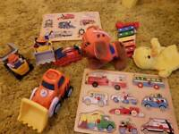 Baby Toy Bundle Wooden puzzles, Paw Patrol, Cars etc