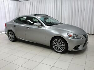 2015 Lexus IS 250 IS250 PREMIUM PACKAGE LUXURY AWD SEDAN