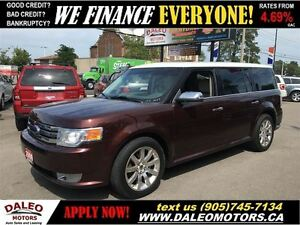 2009 Ford Flex LIMITED AWD LEATHER SUNROOF POWER HATCH