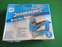 Silverline Electric heavy duty Staple gun