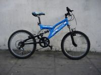 Kids Bike by Trax, Blue, 20 inch Wheels are Great for Kids 7 Years +, JUST SERVICED/ CHEAP PRICE!!!