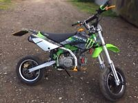 road legal pit bike 12 months mot