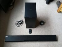 Panasonic SC-HTB680EBK Soundbar 350W Output Wireless Subwoofer Bluetooth & NFC