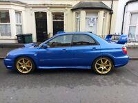 Impreza STi Type UK. 350 BHP. M3 skyline EVO
