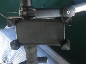 Bicycle phone grip