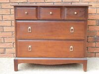 Vintage STAG Minstrel Chest of Drawers