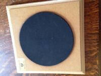 Drum practice pad. Cost £10, sell £3.50. VGC.