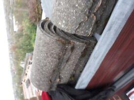 Redland grey profile roof tiles
