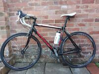 Road bike, recently serviced. In good condition.