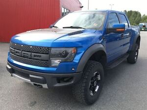 2013 Ford F-150 SVT Raptor sunroof leather navigation