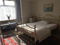 A large double room available