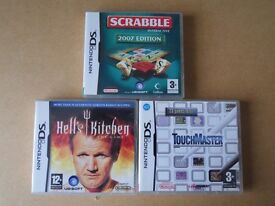 Bundle of games for Nintendo DS.
