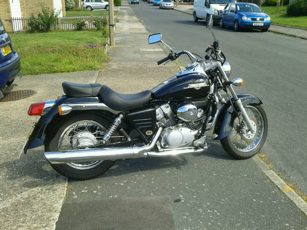 honda shadow 125 for sale in ramsgate kent gumtree. Black Bedroom Furniture Sets. Home Design Ideas