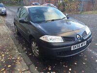 Renault Megane low mileage long MOT 2006